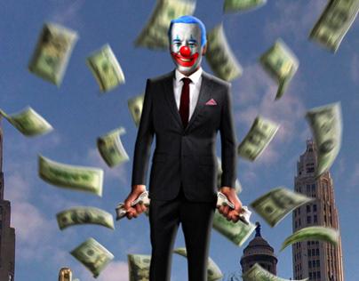 Photo Manipulation - Badass Clown