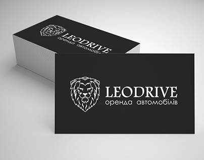 logo design and business cards for Leodrive