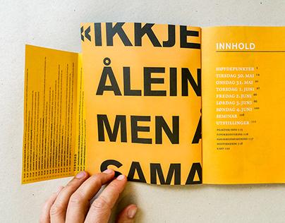 Norsk Litteraturfestival - Ny grafisk profil