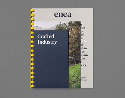 Enea's brand identity and art direction