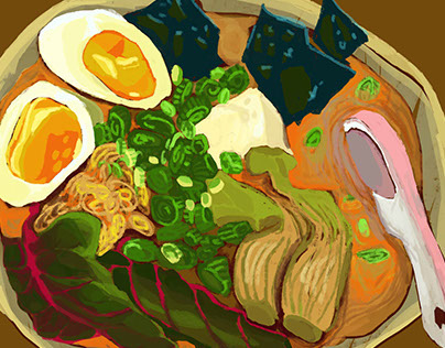 Food illustration project