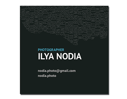 Business card Ilya Nodia