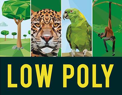 Low poly - polygonal nature art - APV