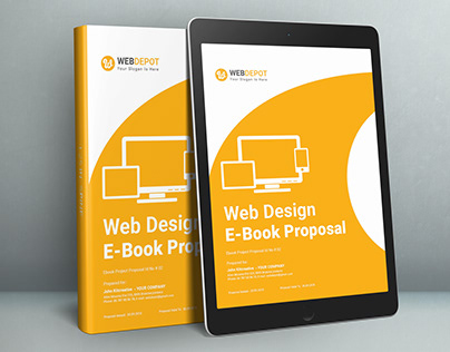 E-Book Web Design Proposal