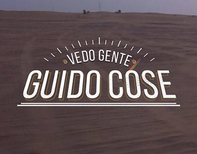 Vedo Gente Guido Cose Motion graphics