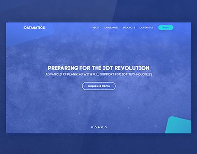 Datanatics - Web Design - UI/UX