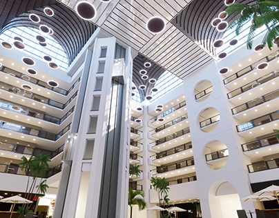 InterContinental_hotel_ Muscat_Oman. Concept Design