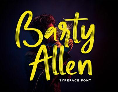Barty Allen Typeface Font