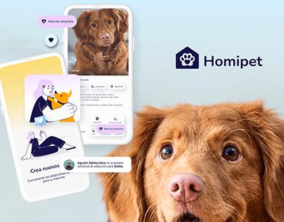Homipet • UX/UI Design