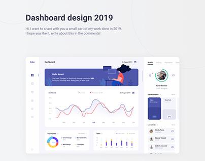 Dashboard design 2019