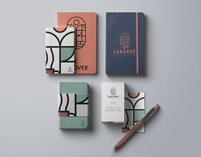 Labarre Bookstore & Cafe Branding Design
