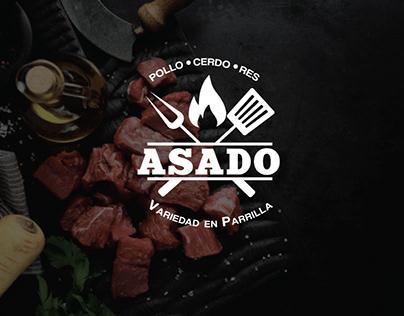 """Identidad Visual """"ASADO"""""""