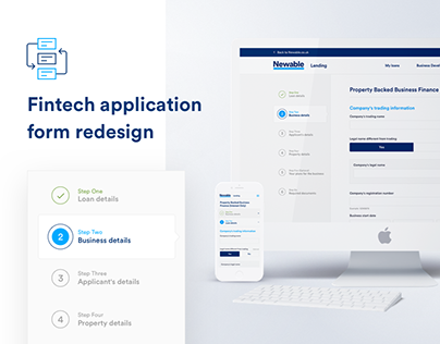 Fintech Application Form - Newable