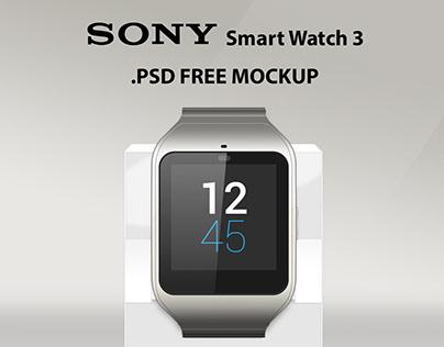 SONY Smart Watch 3. FREE PSD