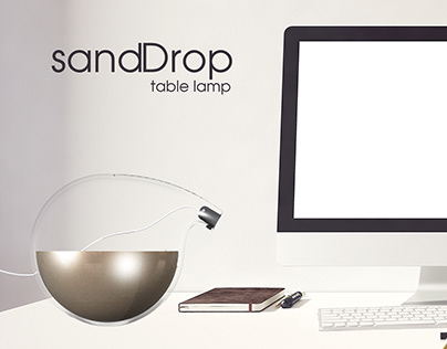 Sand Drop - Table lamp