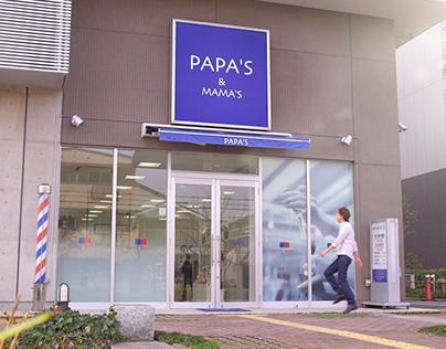 CM「PAPA'S&MAMA'S」