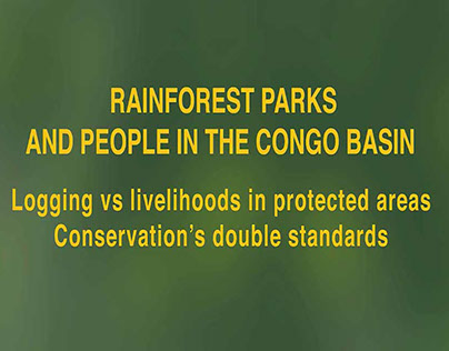 Rainforest Parks and People in the Congo Basin Video 3