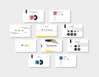 Interaction design - Trending Media Application