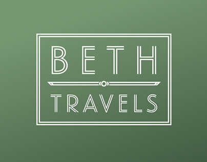 Beth Travels Logo and Business Cards