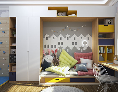 Children's room groot