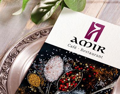 """""""AMIR"""" Restaurant Brand"""