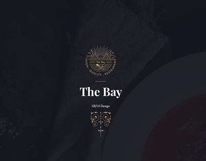 The Bay Restaurant - UX / UI design