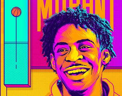 Ja Morant - Illustration