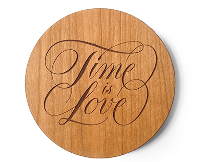 Time Is Love Coasters