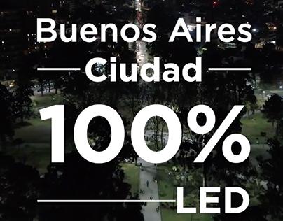100% LED