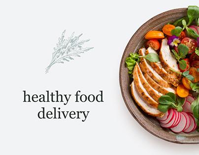 healthy food delivery / Доставка здорового питания