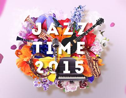 FESTIVAL POSTER: Jazz Time 2015
