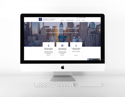 Web Development & Design for Insurance Company
