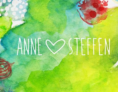 Anne & Steffen – Wedding Stationary