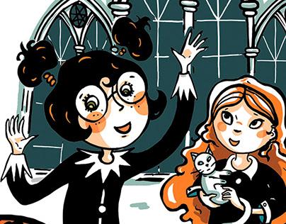 A l'école des sorcières