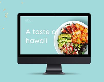 Elua - Hawaiian Seafood - Website