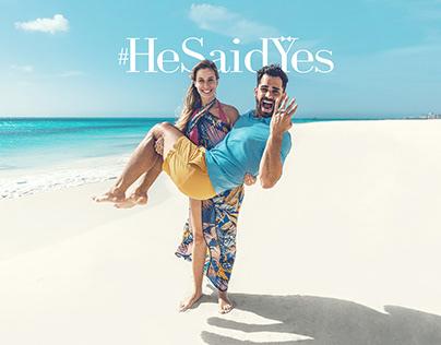 #HeSaidYes