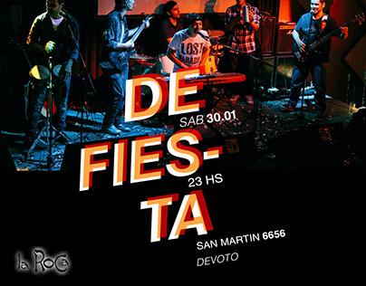 Flyer digital para Maluca
