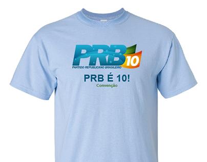 Camiseta de partido para campanha política