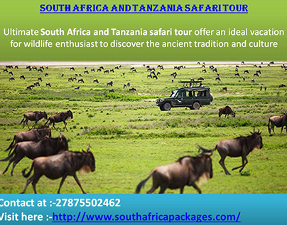 South Africa and Tanzania safari tour