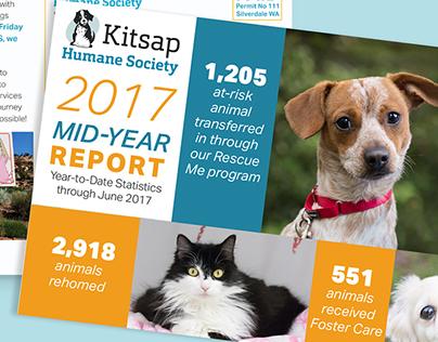 Visual Element Curation: Kitsap Humane Society