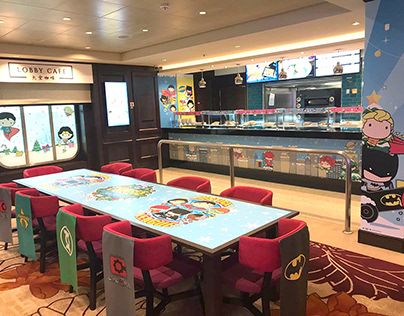 Genting Dream x Justice League Themed Cruise