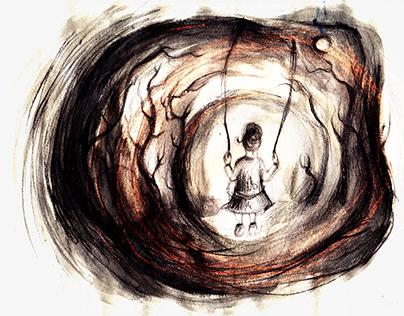 """Little Childhood Secret"", Circles di Roberto Bisegna"