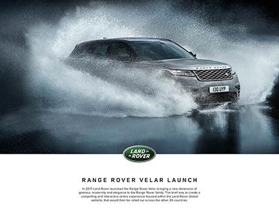 Range Rover Velar Launch