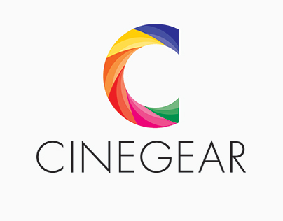 Cinegear logo design