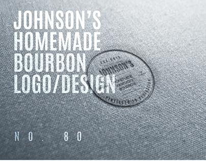 Johnson's Homemade Kentucky Bourbon (Branding/Identity)
