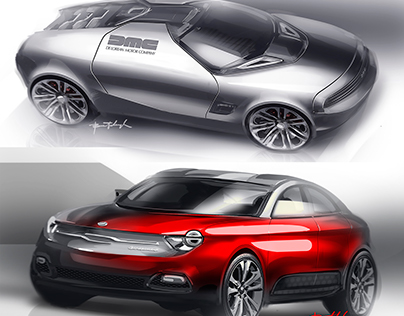 Sketch fighter SPD 2016 on cardesign.ru