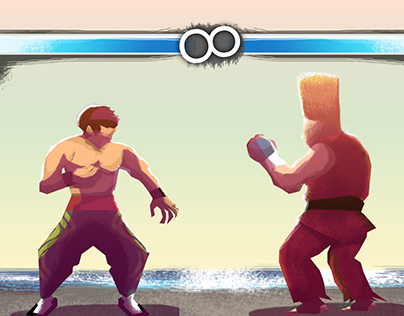 Video Game Illustrations
