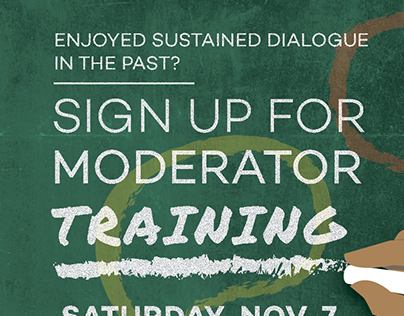 Sustained Dialogue Fall 2015 Moderator Training