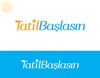 Tatil Başlasın Logo Çalışması