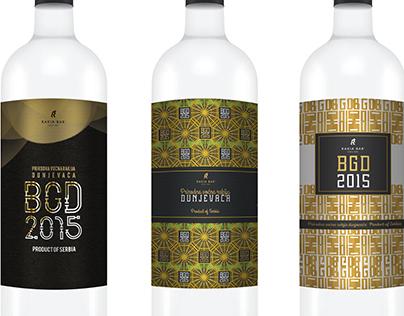 Rakia Bar - Label design contest - 2015